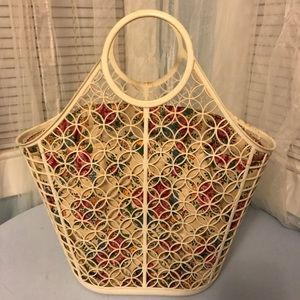 Vintage 60's Basket Purse